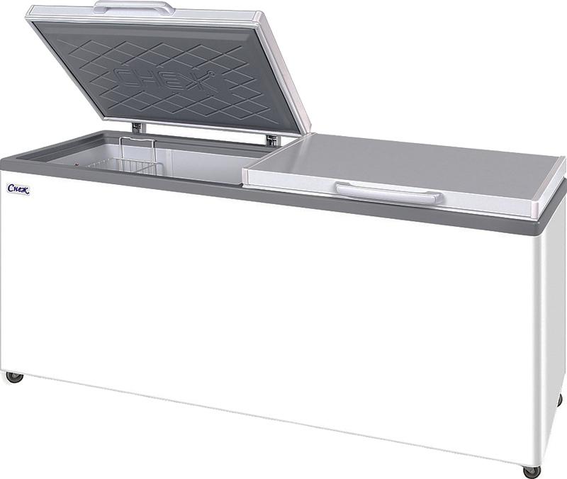 Морозильный ларь Снеж МЛК-800 серый - купить в Москве, цена и описание в интернет магазине Вайтгудс