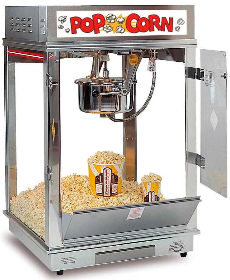 gold medal popcorn machine - 736×898
