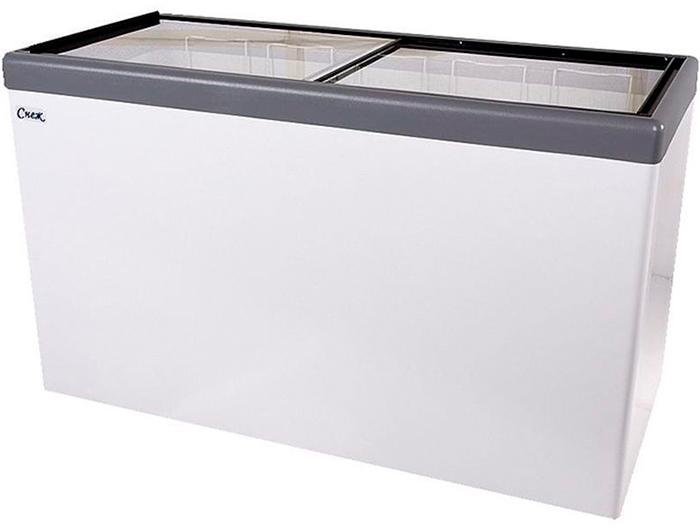Морозильный ларь Снеж МЛП-500 (серый) - купить в Москве, низкие цены, отзывы и описание